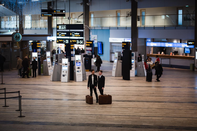 Vigsel på Landvetter flygplats