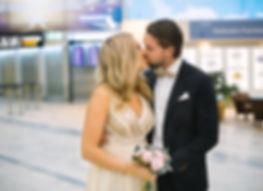 Vigsel Landvetter flygplats, bröllop landvetter flygplats, fotograf landvetter flygplats