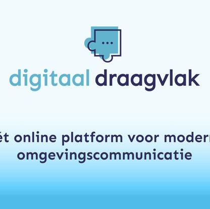 Digitaal Draagvlak klaar voor de start