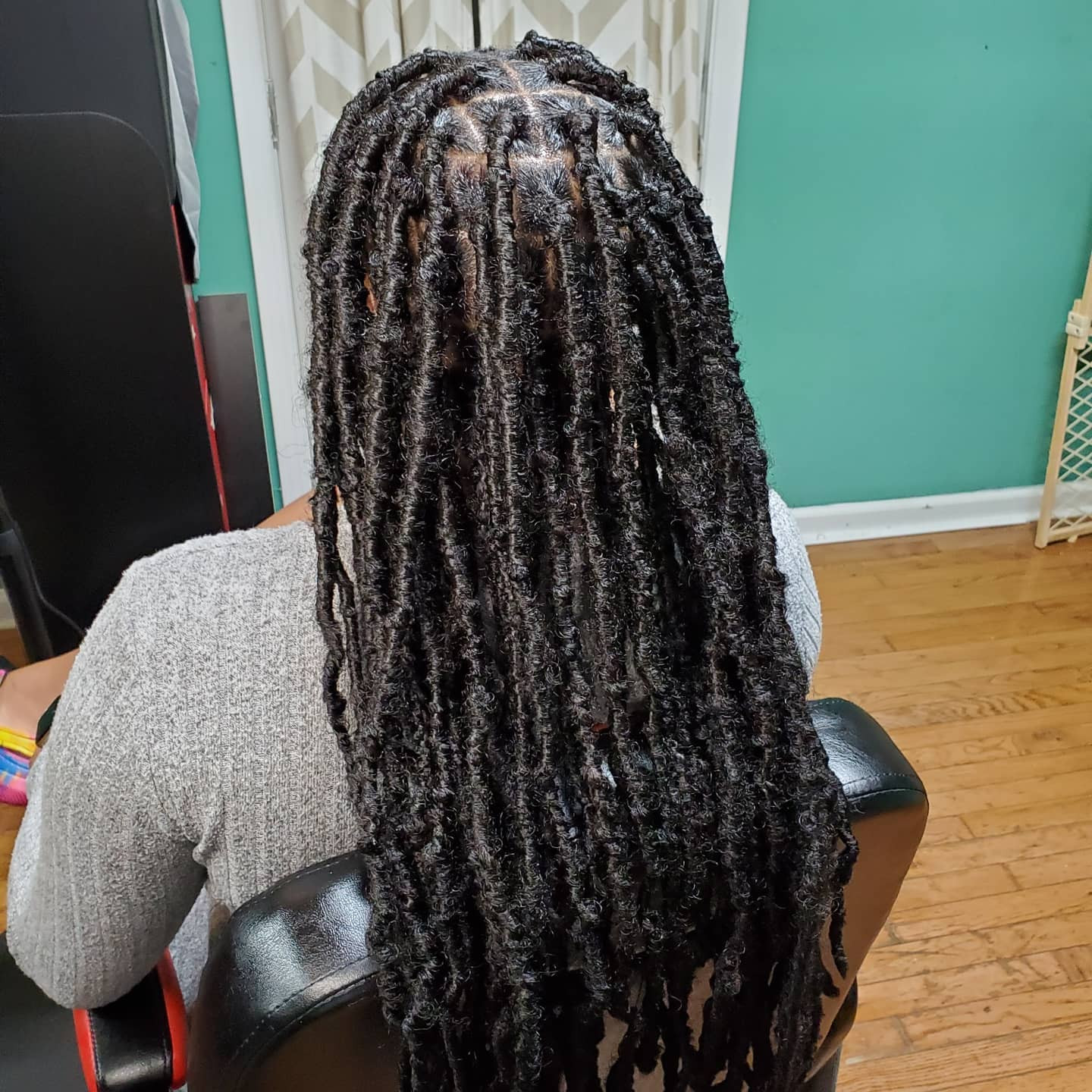 Extended Distressed locs/soft locs