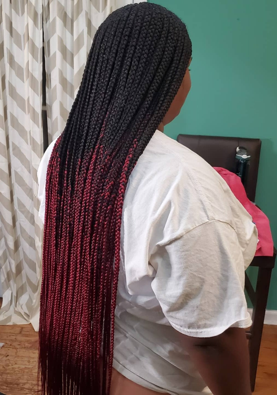 Double layered Tribal Braids
