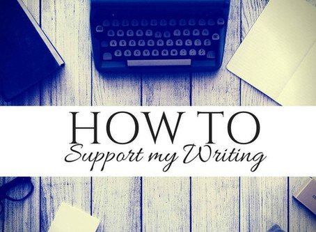 How to Support My Writing