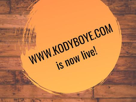 A Brand New Look for KodyBoye.com!