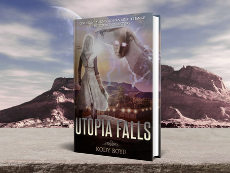 UTOPIA FALLS is out now!