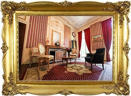 chateau de corcelle grand salon rouge.jp