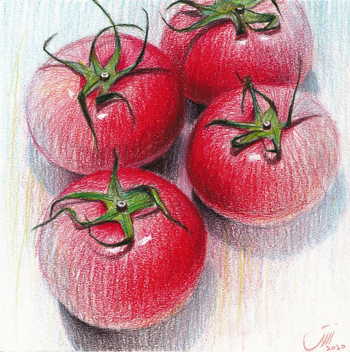 No.178, Tomatoes Gathering