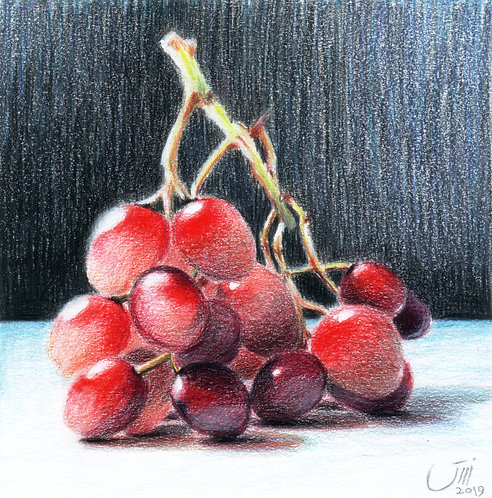 NO.157, Translucent Grapes