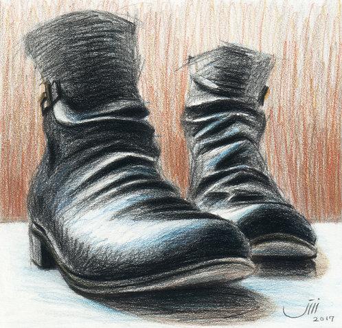 No.93, Black Boots