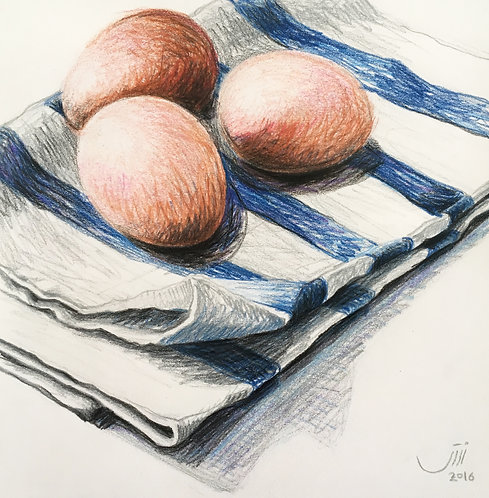 No.39, Eggs on a kitchen rag