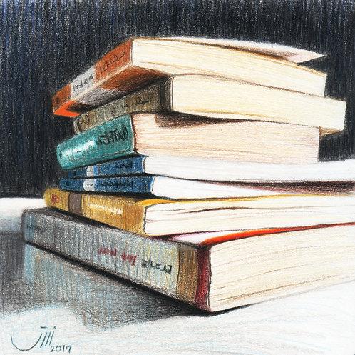 No.100, A Pile of Novels