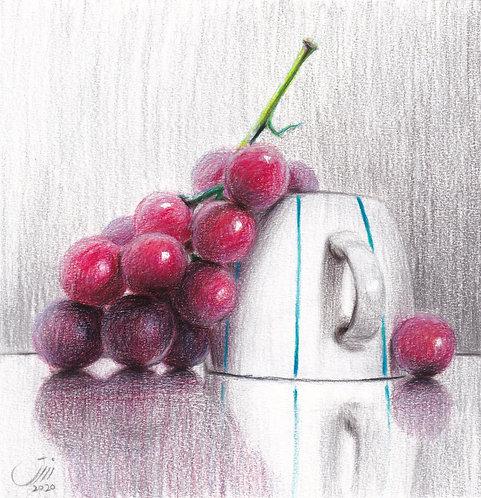 No.174, a white cup