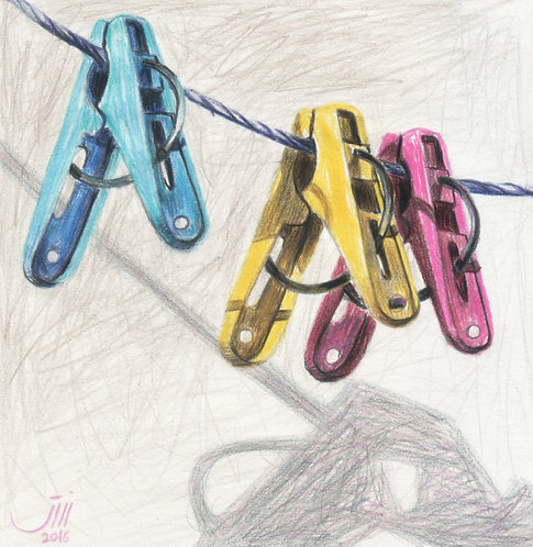 No.45, Colorful clothes pegs