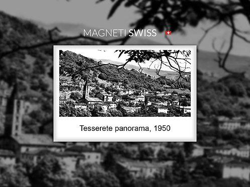 Tesserete panorama, 1950