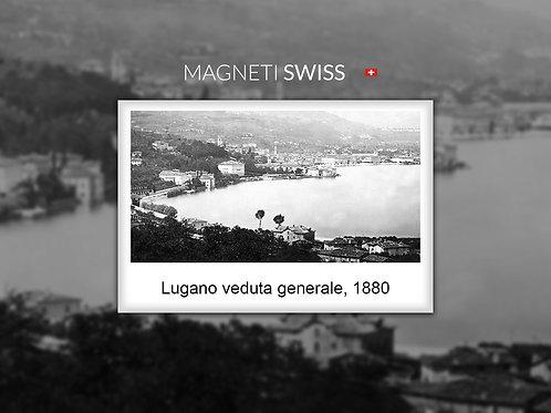 Lugano veduta generale, 1880