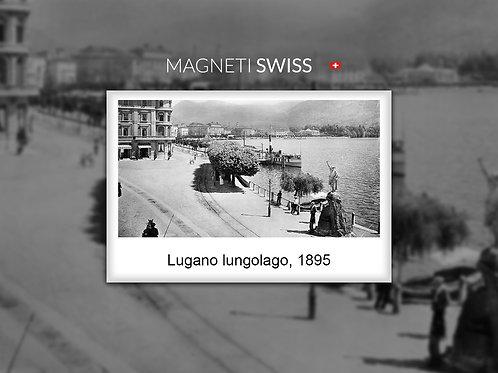 Lugano lungolago, 1895