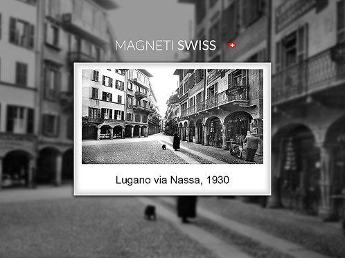 Lugano via Nassa, 1930