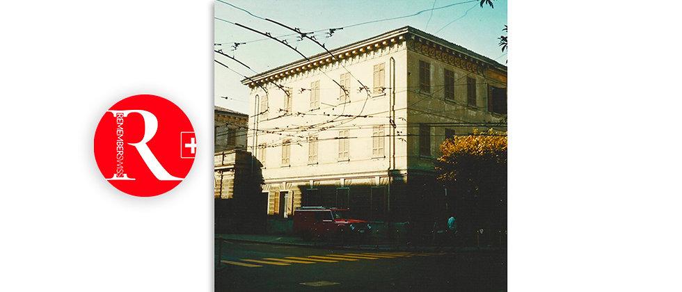 Scuola di Lugano anno 1960 - abbattute nel 1968