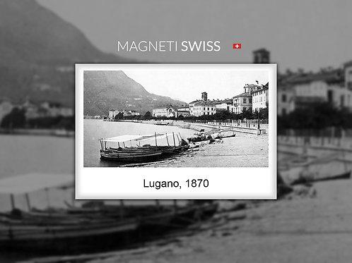 Lugano lungolago, 1870