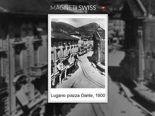 Lugano piazza Dante, 1900