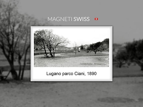 Lugano parco Ciani, 1890