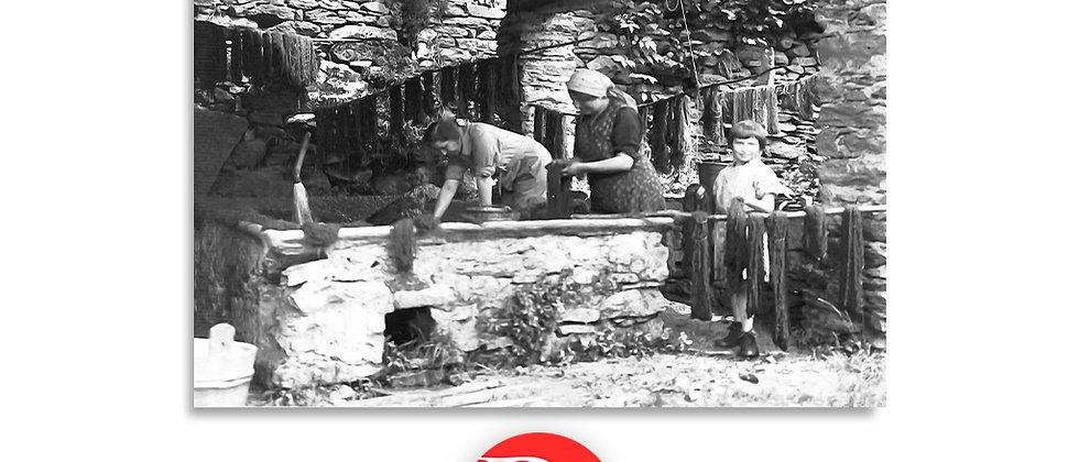 Lavorazione canapa, 1930