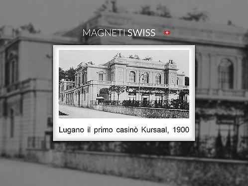 Lugano il primo casinò Kursaal, 1900
