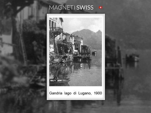 Gandria lago di Lugano, 1900