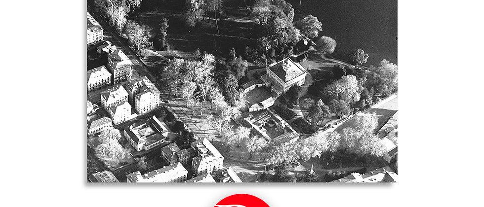 Lugano veduta aerea - Villa Ciani