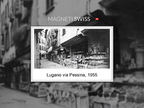 Lugano via Pessina, 1955
