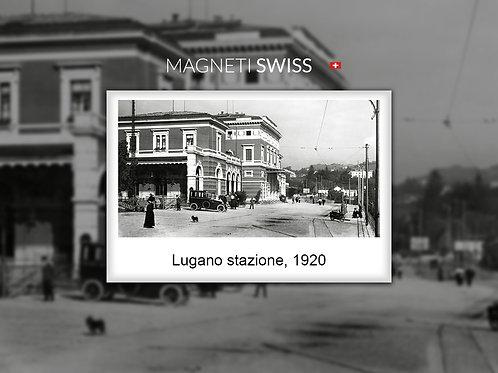 Lugano stazione, 1920