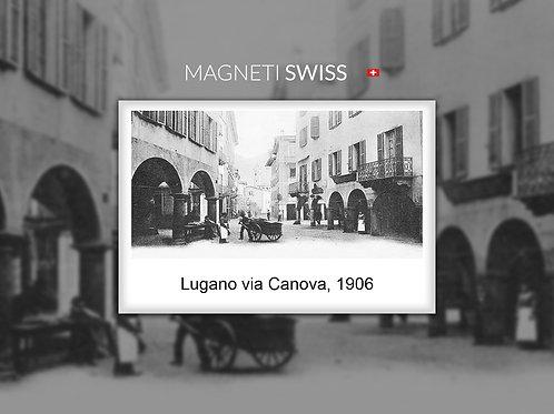 Lugano via Canova, 1906