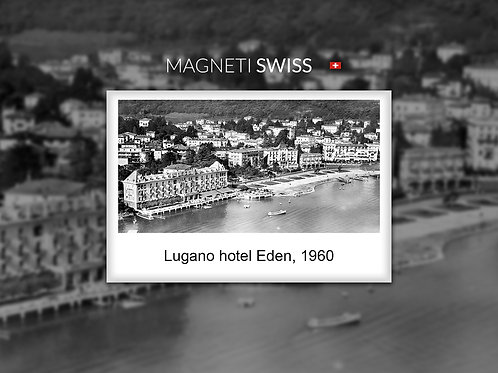 Lugano hotel Eden, 1960