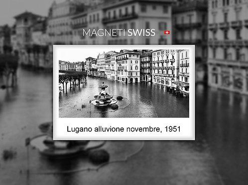 Lugano alluvione novembre, 1951
