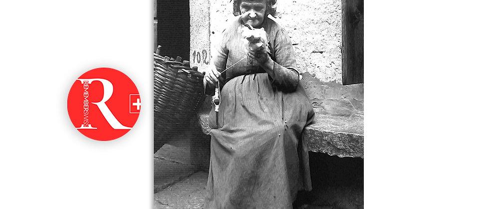 Filatura con l'aspo, 1930