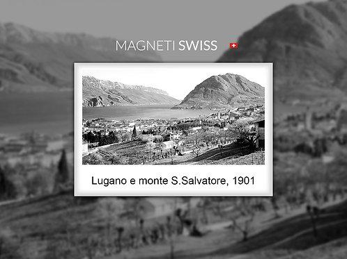 Lugano e monte S.Salvatore, 1901