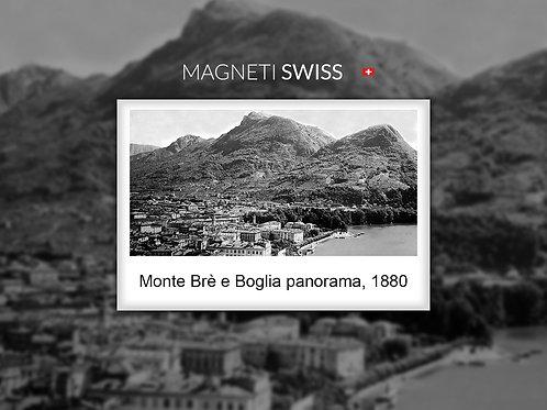 Monte Brè e Broglia panorama, 1880