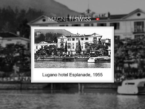 Lugano Hotel Esplanade, 1955