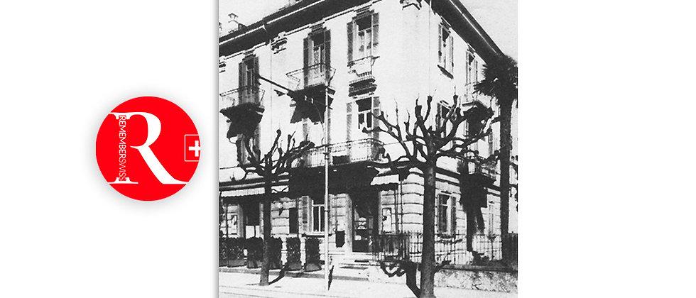 Vecchio ristorante - pensione Borga - Lugano 1940