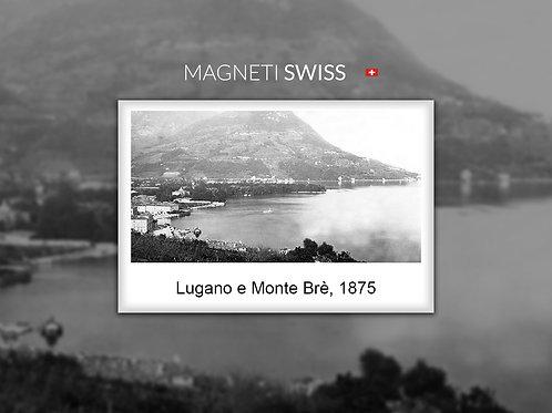 Lugano e Monte Brè, 1875