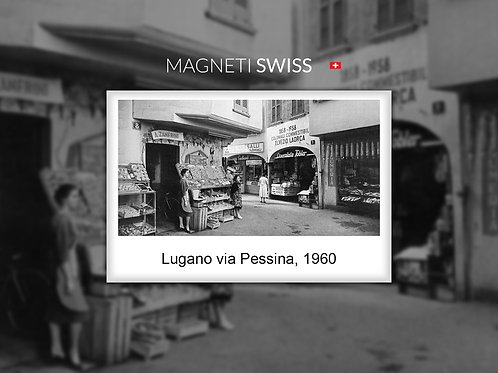 Lugano via Pessina, 1960
