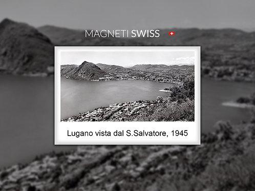 Lugano vista dal S.Salvatore, 1945