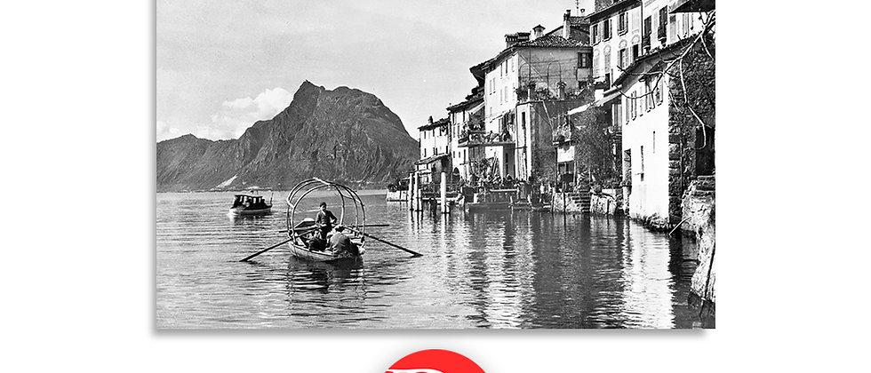 Gandria lago di Lugano 1940
