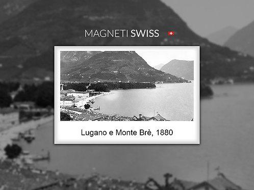 Lugano e Monte Brè, 1880