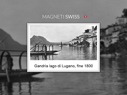 Gandria lago di Lugano, fine 1800