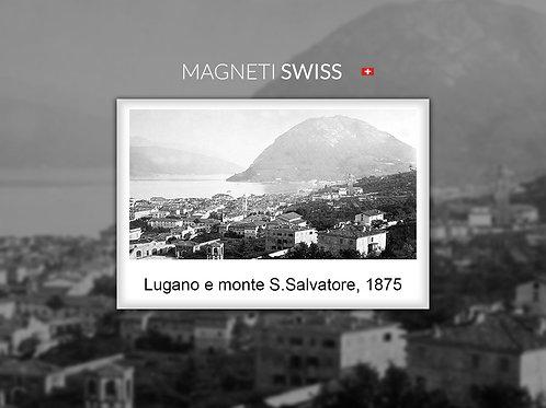 Lugano e il monte S.Salvatore, 1875