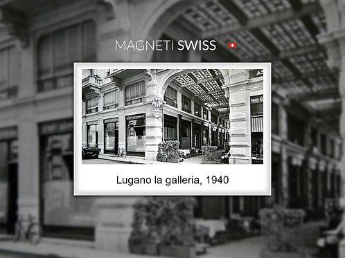 Lugano la galleria, 1940