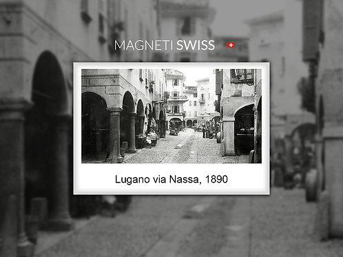 Lugano via Nassa, 1890