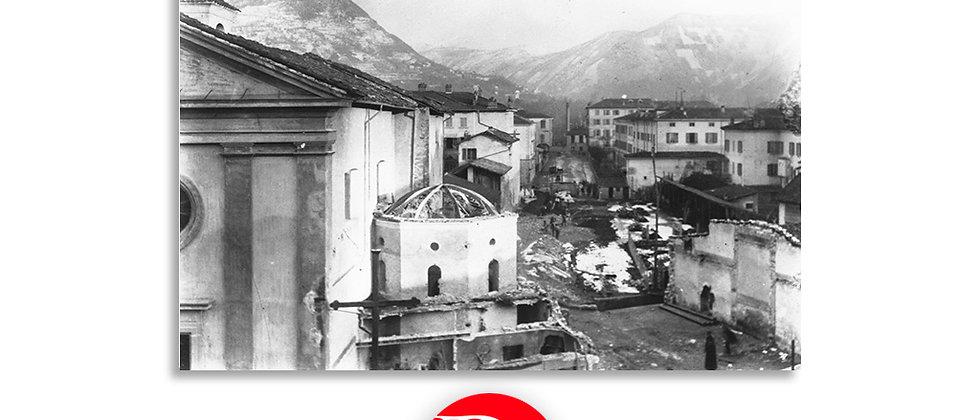 Lugano - Corso Pestalozzi in costruzione