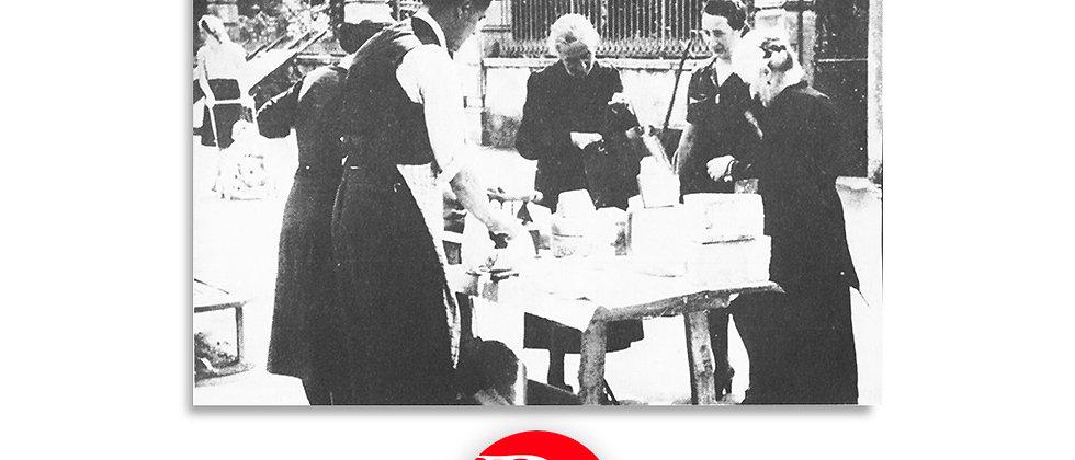 Mercato dei formaggi - Lugano 1930