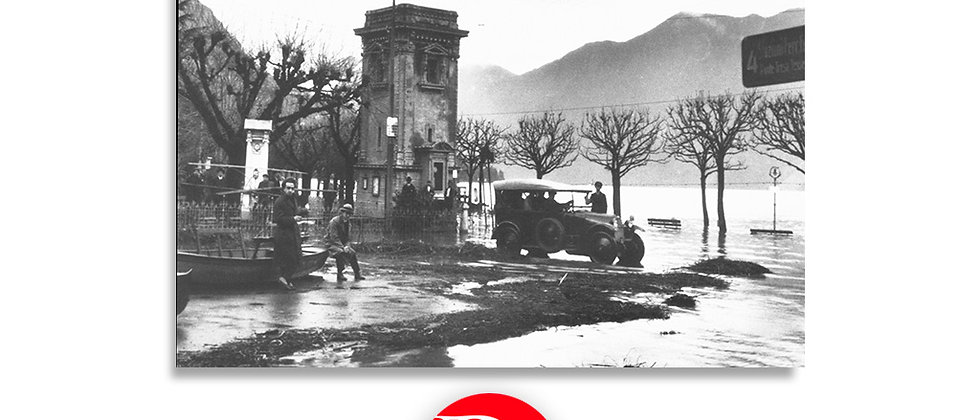 Lugano - Giardino pubblico, inondazione